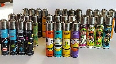 LOT of 36 CLIPPER LIGHTERS 9 FULL SETS used very rare for collectors