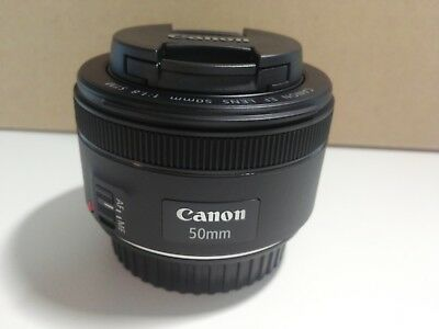Canon EF 50mm F/1.8 STM Lens Free shipping