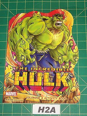 Incredible Hulk Coloring & Activity Book Marvel 2003 Very Good Unused H2A