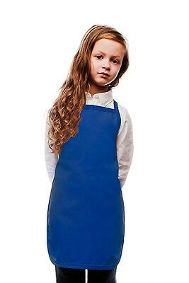 Daystar Aprons 1 Style 250NP Children's No pocket kids bib apron ~ Made in USA