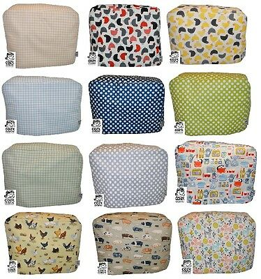 CozyCoverUp® Cotton Food Mixer Dust Cover Modern Patterns Handmade in the UK!
