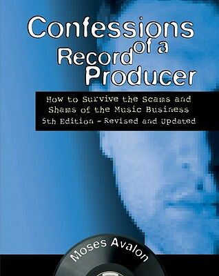 Confessions of a Record Producer Book NEW 000146064