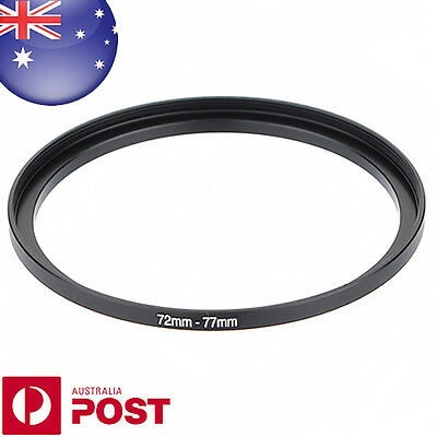 New 72-77mm 72mm-77mm Metal Step Up Lens Filter Ring Adapter - C125