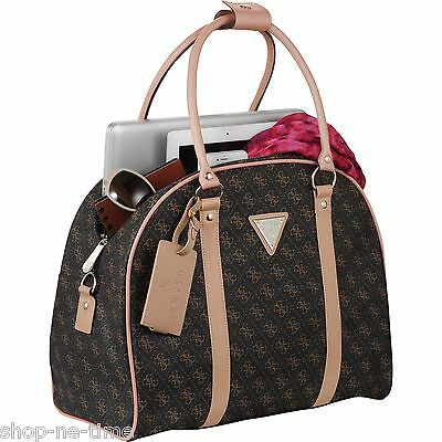 """Guess Logo Affair Dome 15"""" Laptop / MacBook Pro / Tablet Travel Tote Bag - New"""
