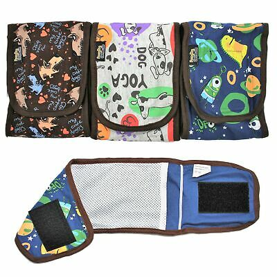 PACK - 3pcs Diapers Male Boy BELLY BAND Wrap Reusable Washable For SMALL Pet GBB
