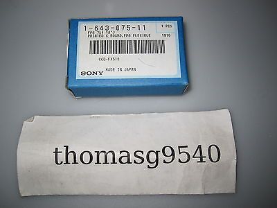 Original Replacement Part sony 1-643-075-11 12 Month Warranty