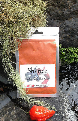 Carolina Reaper Powder or Flakes 5g Shanez WORLDS HOTTEST !! PEPPER CHILLI