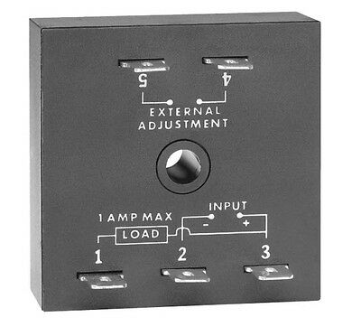 SSAC TS2422 1A 0.5-60sec Solid State Adjustable Interval Timer