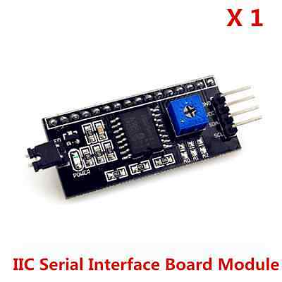 IIC/I2C/TWI/SP​​I Serial  Interface Module Port for Arduino LCD 1602 2004