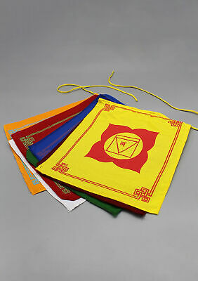 The Seven Chakras Prayer Flags-Special Edition