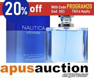 Nautica Voyage 100ml EDT Spray by Nautica for Men Perfume