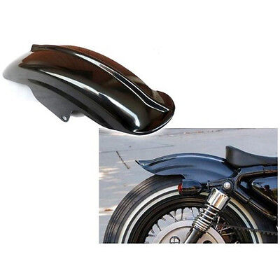 Rear Mudguard Fender For Harley Sportster Bobber Chopper Cafe Racer Black K