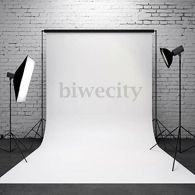 3x5ft Vinly Pure White Photography Background Backdrop Photo Prop For Studio