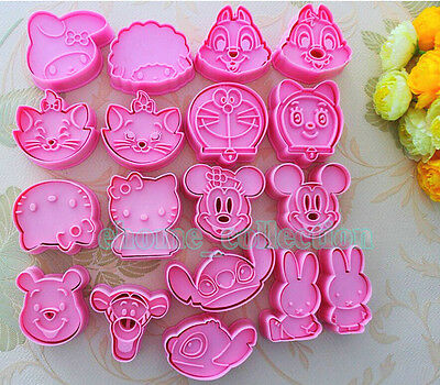 3D Disney Cartoon Shape Cookies Cutter Mould Cake Decorating Cookie DIY Tools