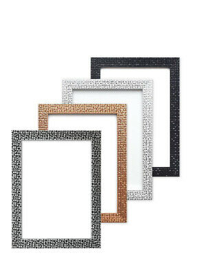 Modern Retro Flat Bright Mirror Effect Mosaic Picture Photo Poster Frame A4 A3