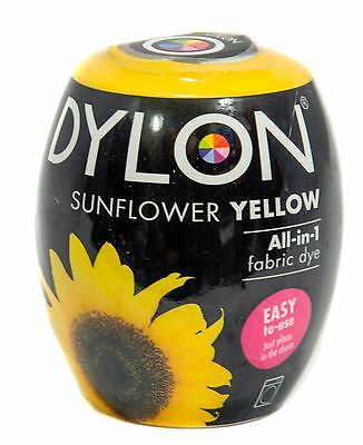 Sunflower Yellow Fabric Dye by Dylon