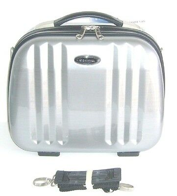 Vanity Case Snowball – Business 35 Cm – Rigide - Argent Brosse