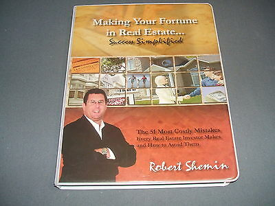 Robert Shemin Making Your Fortune in Real Estate 51 Most Costly Mistakes...