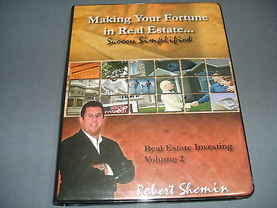 Robert Shemin Making Your Fortune in Real Estate Investing Volume 2