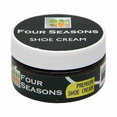 Four Seasons Shoe Cream Shine Polish - 1.76 Ounces