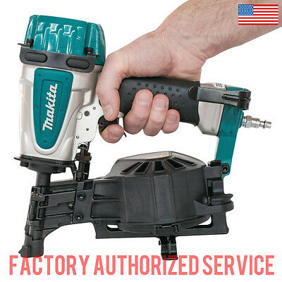 MAKITA AN453 1 3/4 Coil Roofing Nailer WITH FULL ONE YEAR WARRANTY!!!!