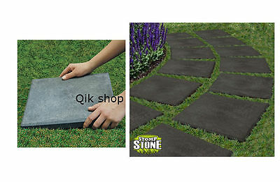 Ecotrend Garden Stomp Stones Paving Slabs Path Lawn Steps