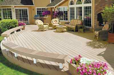 Composite Decking DIY Kit per m2