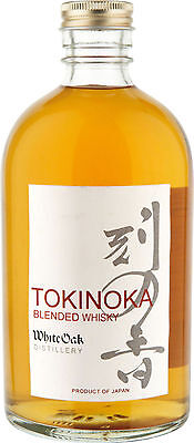 Tokinoka Blended Japanese Whisky White Oak Distillery Gift Boxed 500 Ml