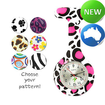 Pattern Silicone FOB Watch | Nurse | Doctor | Student