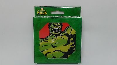 New Marvel Comics Incredible Hulk Neoprene Coasters
