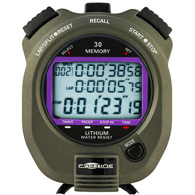 NEW Fastime 5 Water Resistant Sports Stopwatch Swimming