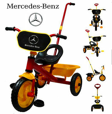 Mercedes-Benz Bike Trike Tricycle Kid Child Toddler 3 Wheel Outdoor Ride On Toy