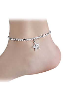 Cfly889 Wedding Beach Anklet Chain Foot Jewelry 2016