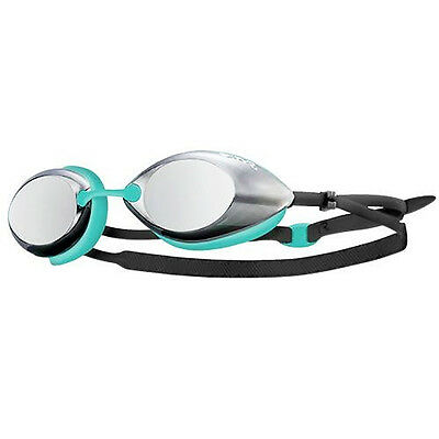 NEW TYR Tracer Small Fit Racing Metallized Goggles – Mint/Grey Swimming