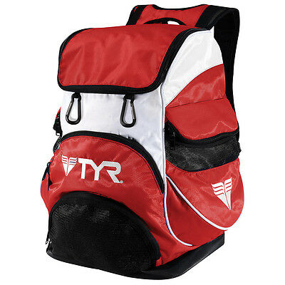 NEW TYR Alliance Team Swimmers Backpack II – Red Swimming