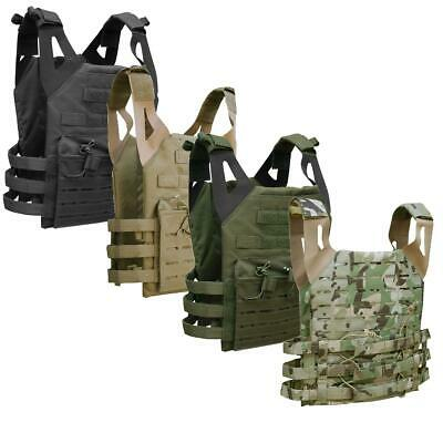 Military Style Plate Carrier Viper Molle Tactical Platform Vest Airsoft Cadet