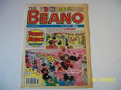 THE BEANO COMIC No. 2551 JUNE 8th 1991 D.C.THOMSON & CO