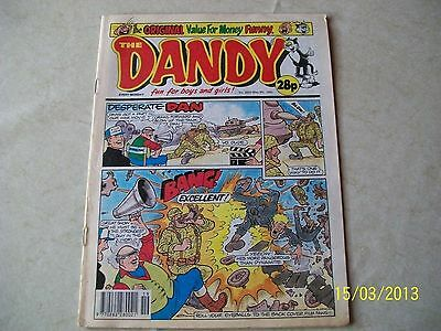 THE DANDY COMIC No. 2633 MAY 9TH 1992 D.C.THOMSON & CO