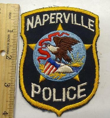 Older Naperville Police Patch Pp90