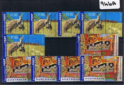 Australia 2004 Day 2 Values X 5 Each Fine Used     946A