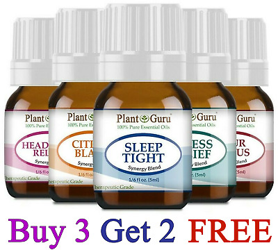 Essential Oil Blends 5 ml CREATE A SET / LOT 100% Pure Natural Therapeutic Grade