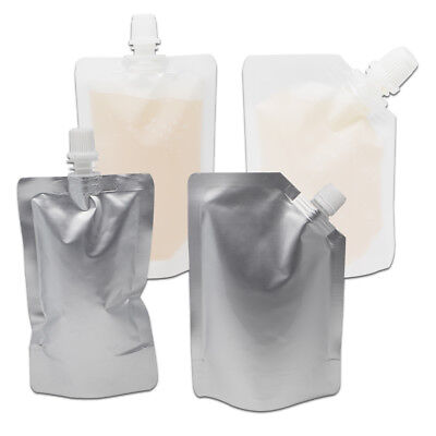 Spout Bag Flat & Stand Up Bags Liquid Doypack Pouch For Wine Juice Oil Beverage