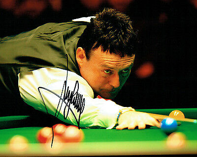 Jimmy WHITE SIGNED 10x8 Photo Autograph COA AFTAL SNOOKER Legend