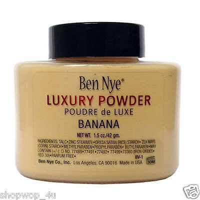 Genuine Ben Nye Banana Luxury Powder 42 g Brand New Sealed  UK Seller