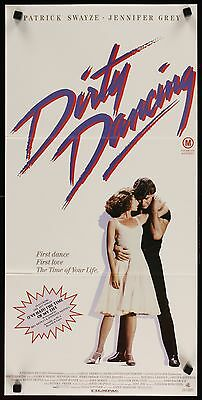 DIRTY DANCING - original movie / film poster