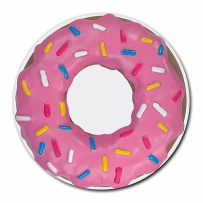 Pc Mouse Pad Free Shipping - Pink Donuts With Sprinkles Round Mousepad Mouse Pad
