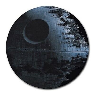 Star Wars Mouse Pad Free Shipping - Star Wars Death Star Round Mousepad
