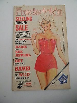 Frederick's of Hollywood Catalog-Sale- 1978- Vintage Fashion- Vol 32 Issue 222