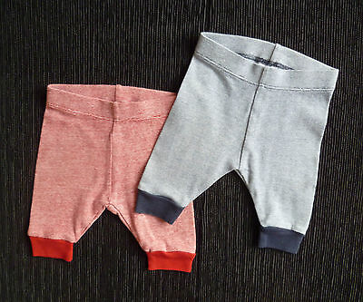 Baby clothes BOY newborn 0-1m<10lbs/4.5kg NEW! NEXT 2 pairs soft trousers