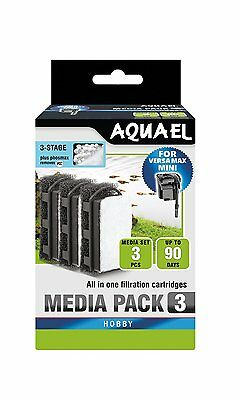 AQUAEL 3-STAGE FOR VERSA MAX MINI phosmax Replacement Cartridge (nr113275 )